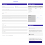 woocommerce one page checkout template